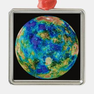 Venus Under False Color Christmas Ornament