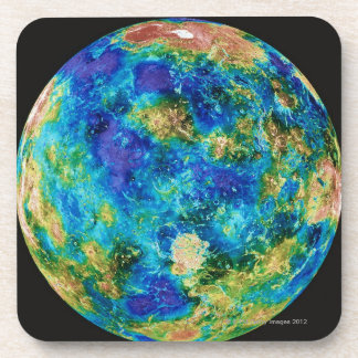 Venus Under False Color Coaster
