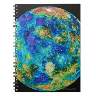 Venus Under False Color Notebooks