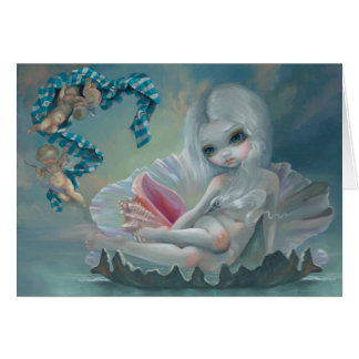 """Venus with Cherubs"" Greeting Card"