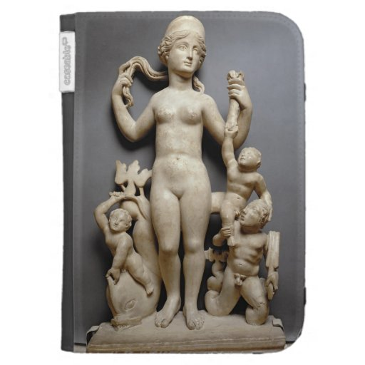 Venus with putti, a triton and a dolphin, Roman, 4 Kindle Folio Case