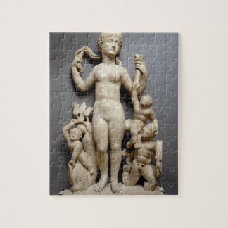 Venus with putti, a triton and a dolphin, Roman, 4 Jigsaw Puzzle