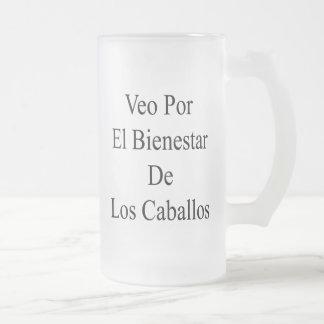 Veo Por El Bienestar De Los Caballos Coffee Mug