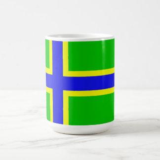 vepsia ethnic flag baltic scandinavia basic white mug