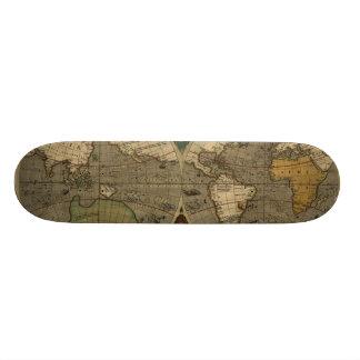 Vera Totius Expeditionis Map Custom Skateboard
