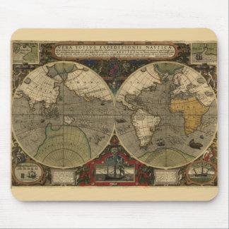 Vera Totius Expeditionis Map Mouse Mat