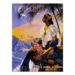 Veracruz Mexico Vintage Travel Poster Restored