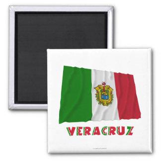 Veracruz Waving Unofficial Flag Magnet