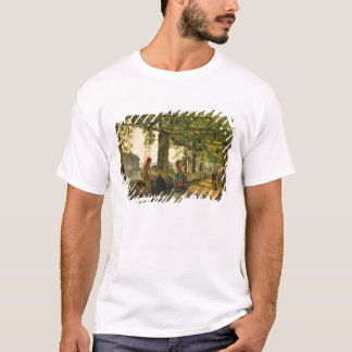Verandah with twisted vines, 1828 T-Shirt