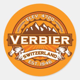 Verbier Logo Classic Round Sticker