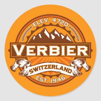 Verbier Logo Round Sticker