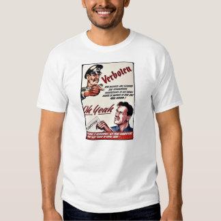 Verboten, Oh Yeah, Suggestion Tee Shirt