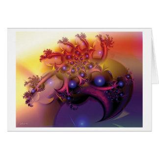 verbotene Frucht Greeting Card