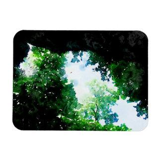 Verdant Foliage Flexible Magnet