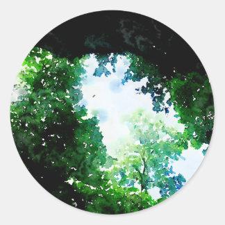 Verdant Foliage Stickers