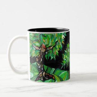 Verdant Forest Two-Tone Mug