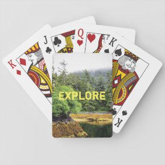 Verdant Views Playing Cards