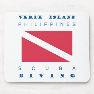 Verde Island Philippines Mouse Pad