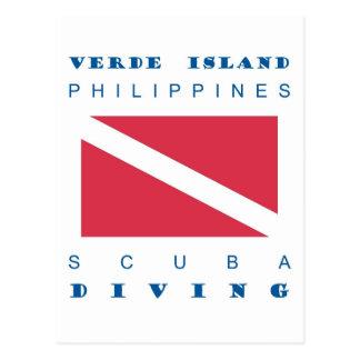 Verde Island Philippines Postcard