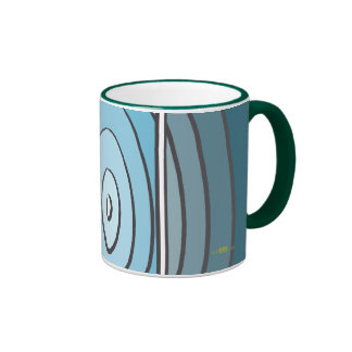 Verdes waves mugs