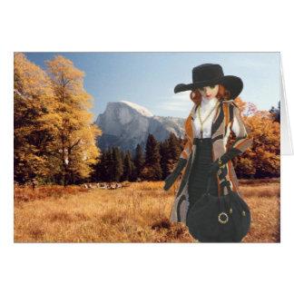 Verdi, Halfdome Meadow, Yosemite National Park Greeting Card