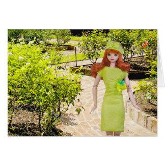 Verdi, Sam Houston Park Rose Garden at Houston, TX Greeting Card