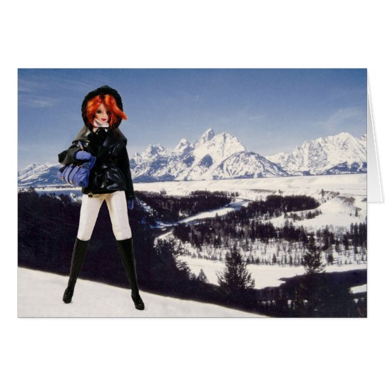Verdi Visits The Grand Teton National Park Card