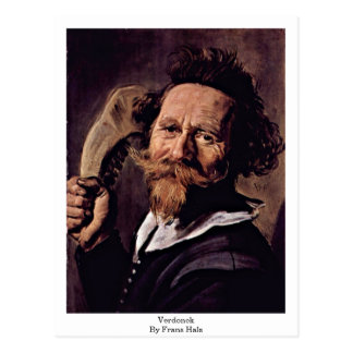 Verdonck. By Frans Hals Postcard