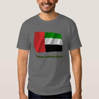 Vereinigte Arabische Emirate Flagge mit Namen Shirts