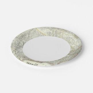 Vereinigten Staaten von N America - North US Paper Plate