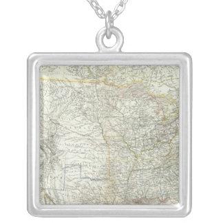 Vereinigten Staaten von N America - North US Silver Plated Necklace