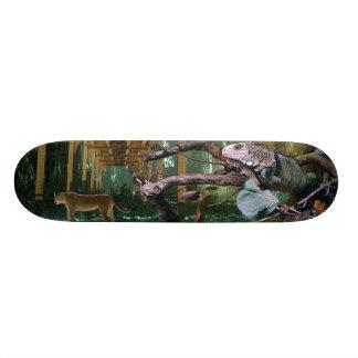 Vergangene Zeit Elapsed Time Individuelles Skateboard