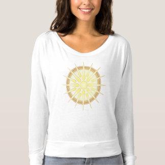 Vergina Sun Flowy Long Sleeve T-Shirt