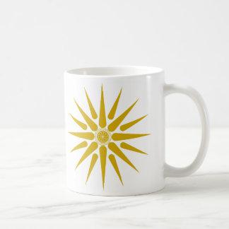 VERGINA SUN BASIC WHITE MUG
