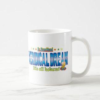 Veridical Dream Dr. B Head Basic White Mug