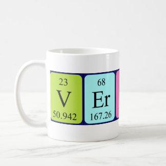 Verity periodic table name mug