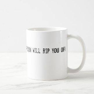 Verizon will rip you off coffee mug