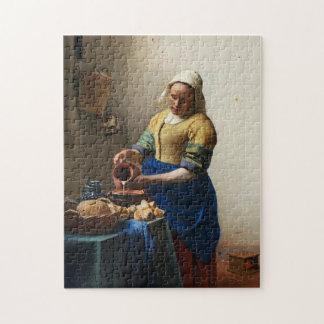 Vermeer The Milkmaid Puzzle