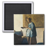 Vermeer's Woman in Blue Reading a Letter ca.1665