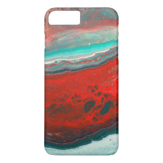 """Vermillion Beach"" Abstract Painting Phone Case"