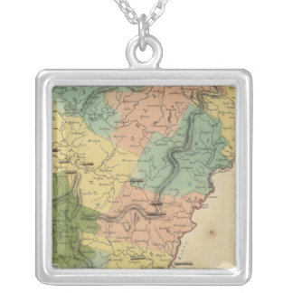 Vermont 10 silver plated necklace