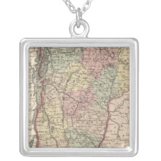 Vermont 11 silver plated necklace