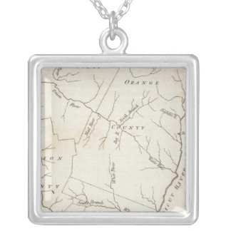 Vermont 2 silver plated necklace