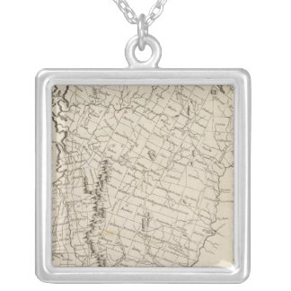 Vermont 4 silver plated necklace