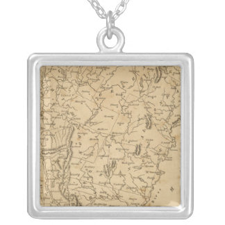 Vermont 5 silver plated necklace