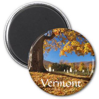 Vermont 6 Cm Round Magnet