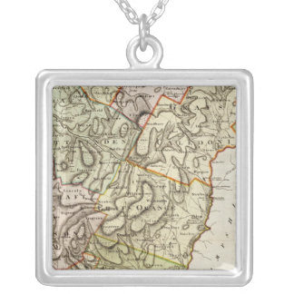 Vermont 6 silver plated necklace