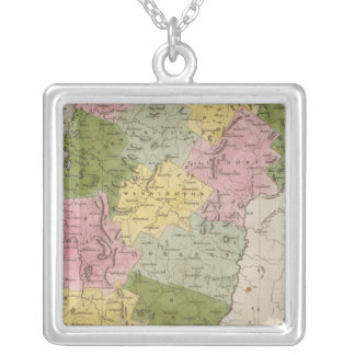 Vermont 7 silver plated necklace