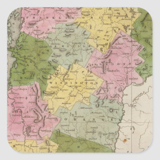 Vermont 7 square sticker