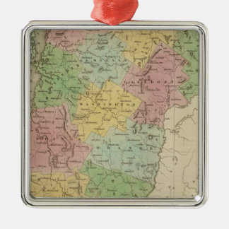 Vermont 8 christmas ornament